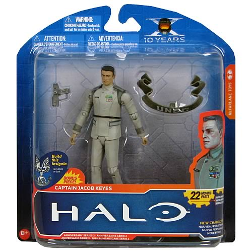 Order Halo Anniversary Series 2 Captain Jacob Keyes Action Figure from Entertainment Earth!