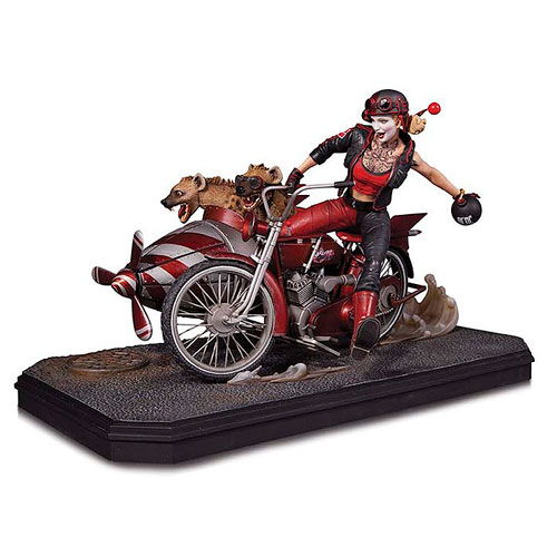 DC Comics Gotham City Garage Harley Quinn Deluxe Edition Statue