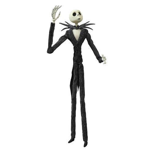 Nightmare Before Christmas Jack Coffin Action Figure
