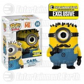 POP! Movies Mustache Carl Vinyl Figure (Despicable Me 2) Entertainment Earth Exclusive
