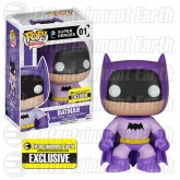 POP! Batman 75th Anniversary Purple Rainbow Batman Vinyl Figure (DC Universe) Entertainment Earth Exclusive
